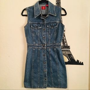 Vintage Gad Denim Dress Size 6